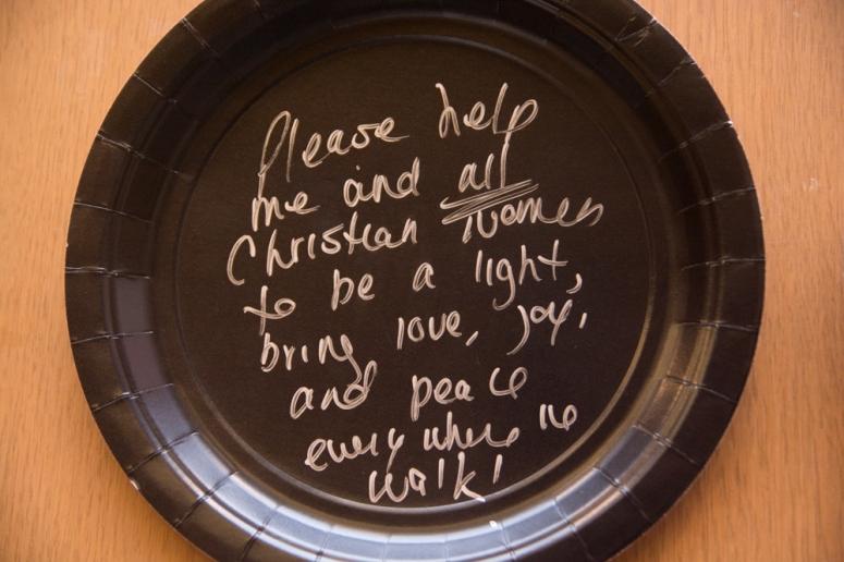 plate-prayer