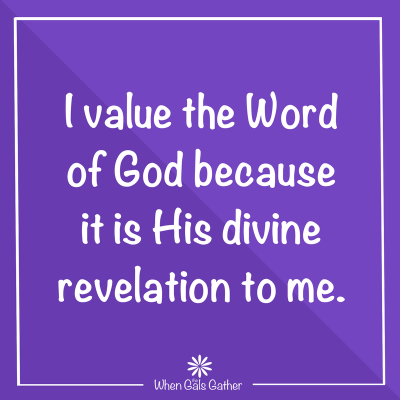 I believe the word of God