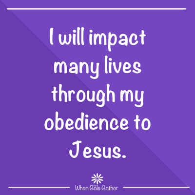 Obedience to Jesus