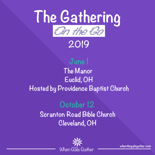 Gathering 2019 save the date